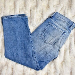 Lucky Brand Classic Rider Crop Jeans Size 6/28